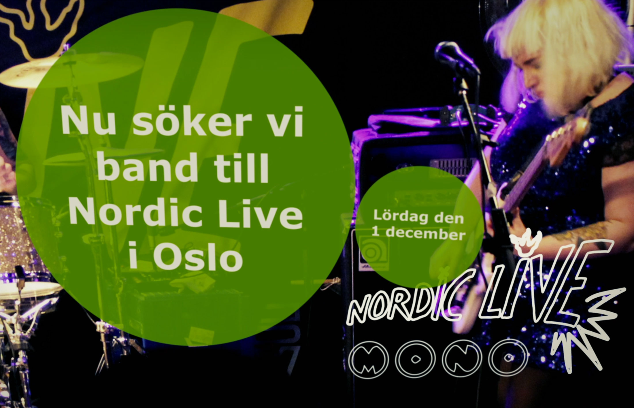 Nordic Live Oslo 1 dec 2018