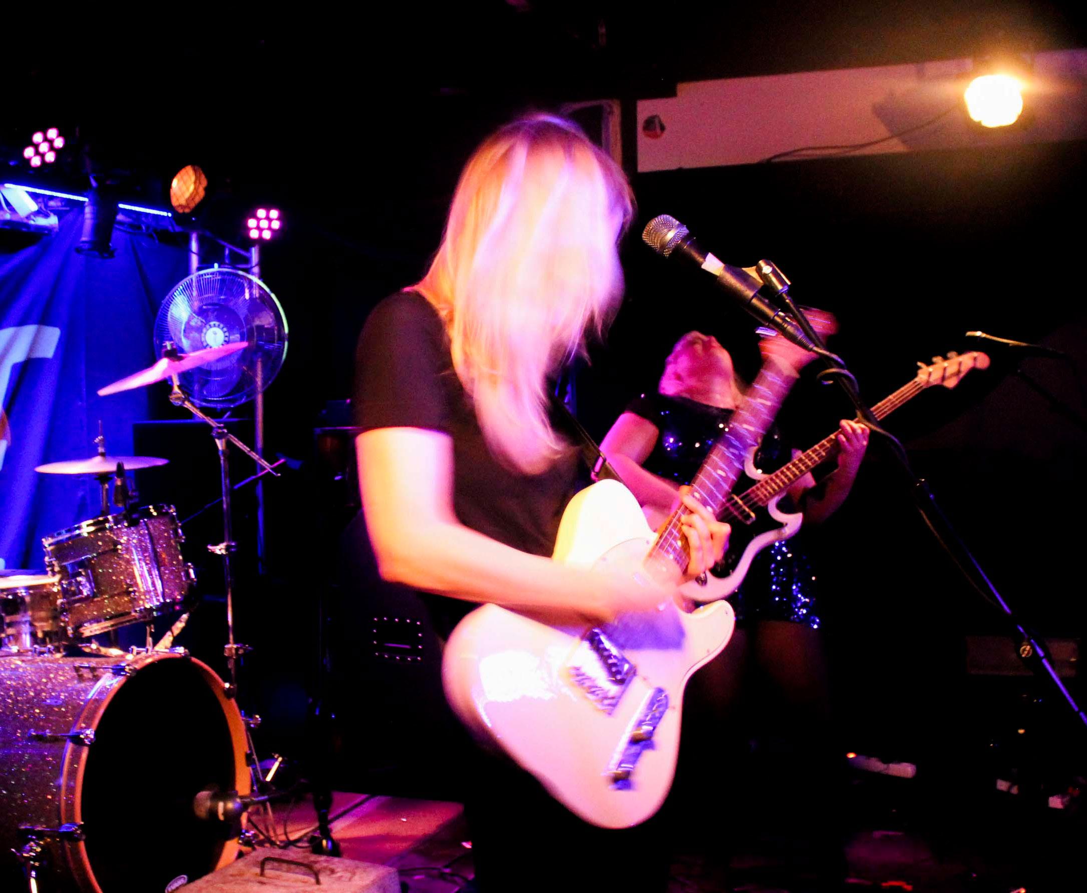 Livefoto - Band: Lava Bangs (foto: Edward Forslund)