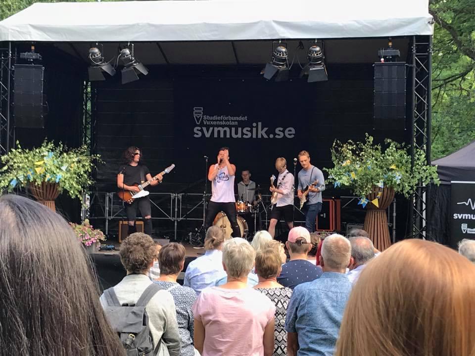 SV Musik - livescen i Falköping