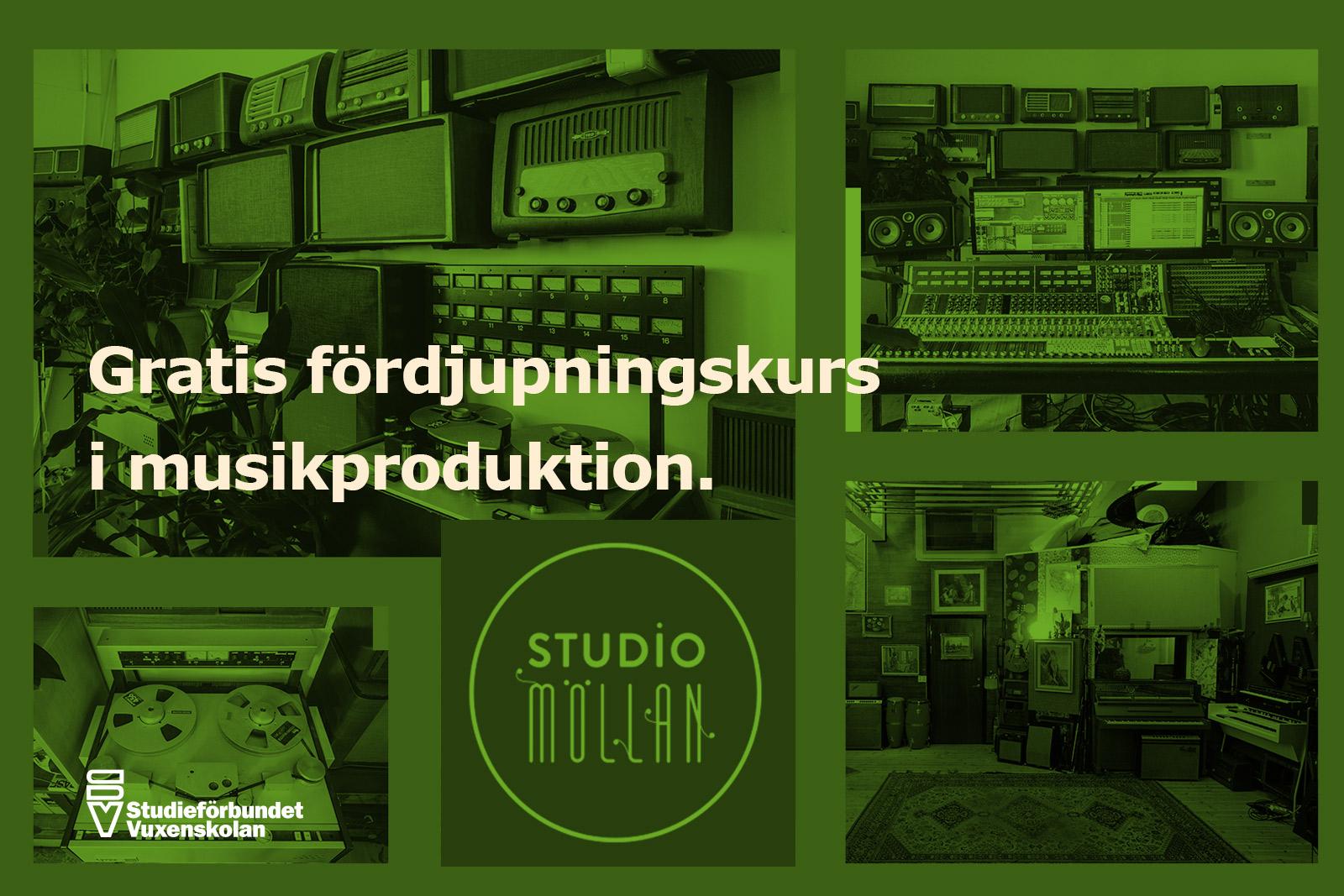 Studio möllan - gratis kurs